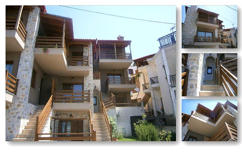 Комплекс из6 трехэтажных загородных домов